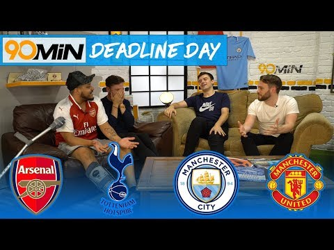 Sanchez Stays, but Lemar to Arsenal fails | Chelsea Deadline day embarrassing? 90min Deadline Day