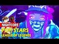 """₢Nightcore - K/DA - """"POP/STARS"""" (Switching Vocals) - (lyrics)"""