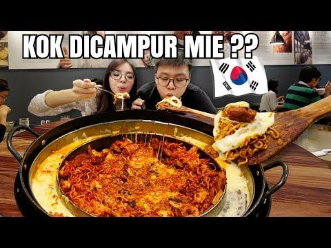 NASI GORENG KOREA RAKSASA (DAK GALBI) ! GEDE BANGET!