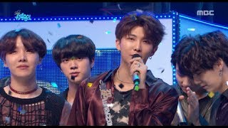 [HOT] 6월 2주차 1위 '방탄소년단 - FAKE LOVE  (BTS  - FAKE LOVE)' Show Music core 20180609
