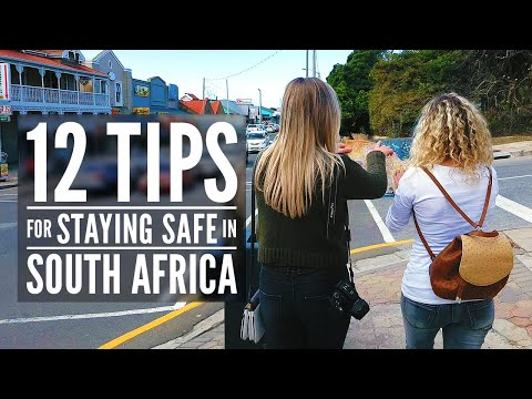 Is South Africa safe to travel to? - 12 Tips for staying safe when you visit SA