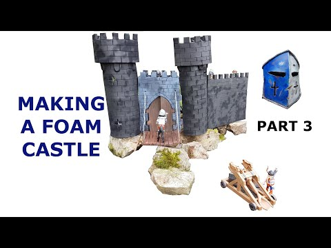 Making a Toy Castle - Part 3 The Turrets