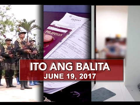 UNTV: Ito Ang Balita (June 19, 2017)