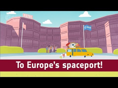 To Europe's spaceport!