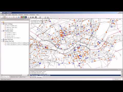 HCPPT Shared-taxi simulation