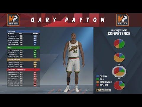 NBA 2K20 - BUILD GARY PAYTON !