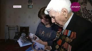 Правда о войне: ветеран ВОВ провел урок памяти для школьников Алматы (10.05.18)