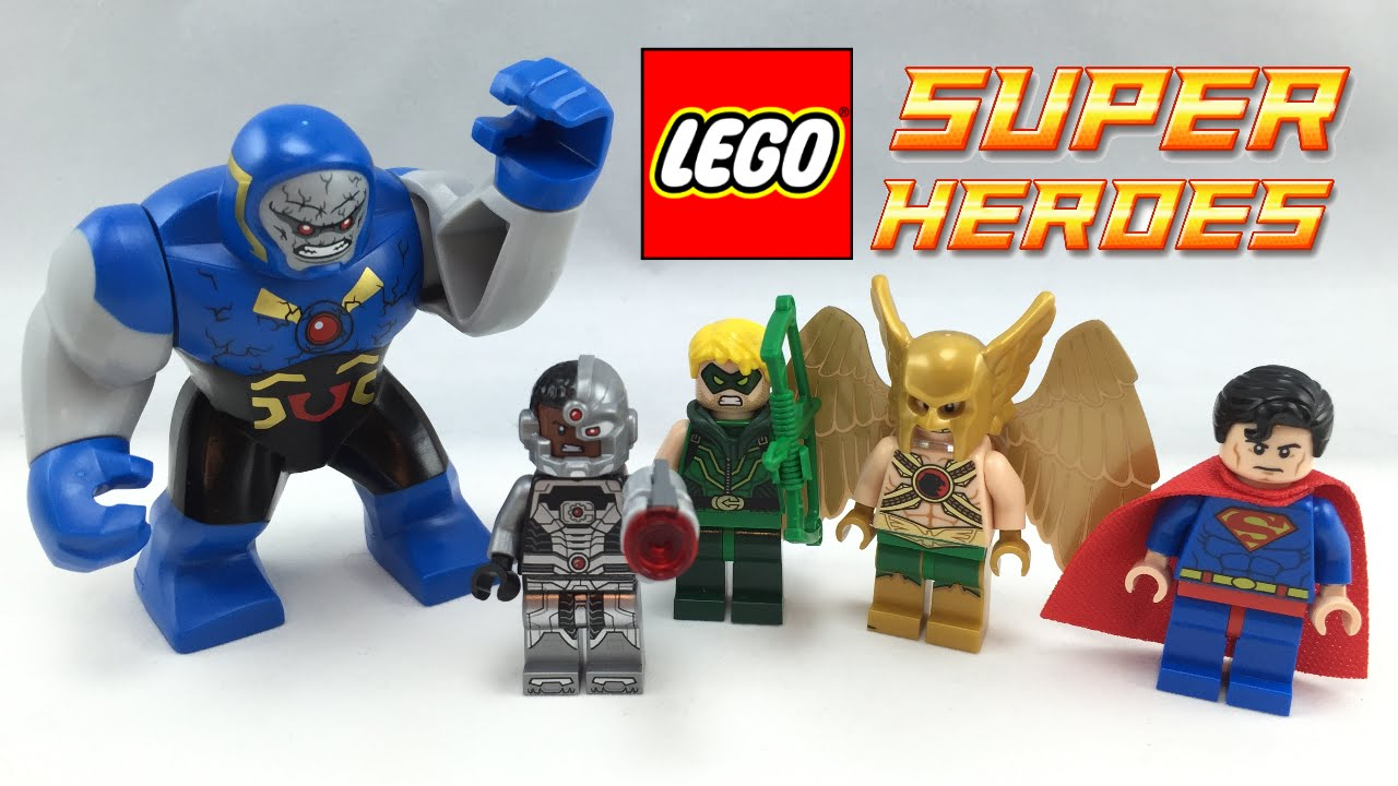 LEGO Darkseid Invasion review! 76028 - YouTube