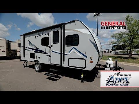 General RV Center | 2019 Coachmen Apex Nano193BHS | Travel