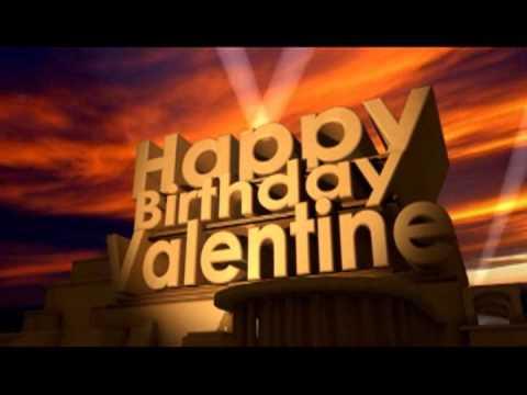 Happy Birthday Valentine