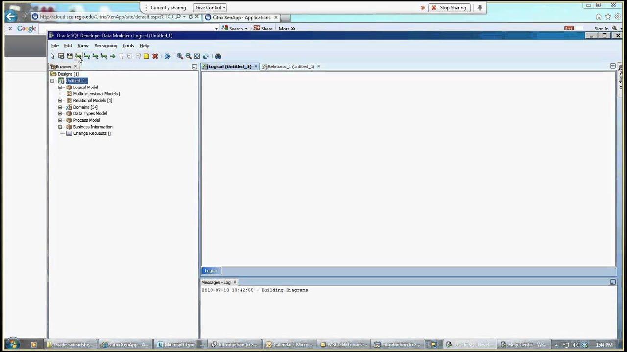 Introduction to sql developer data modeler youtube introduction to sql developer data modeler pooptronica Choice Image
