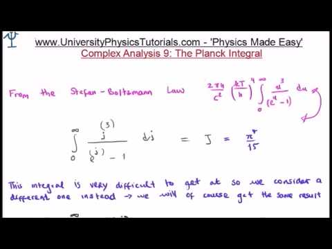 Planck Integral Solution