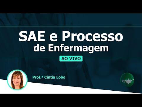 SAE e Processo de Enfermagem - Como Cai na Prova de Enfermagem | Profª Cintia Lobo | 15/01 às 19h