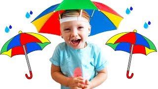 Rain Rain Go Away   Baby Song    Nursery Rhymes & Kids Songs by Olivia Kids Tube