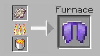 Minecraft, But Smelting Is Extremely OP...