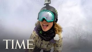 Chloe Kim: A Day In The Life Of A Record-Breaking American Snowboarder | Influential Teens | TIME