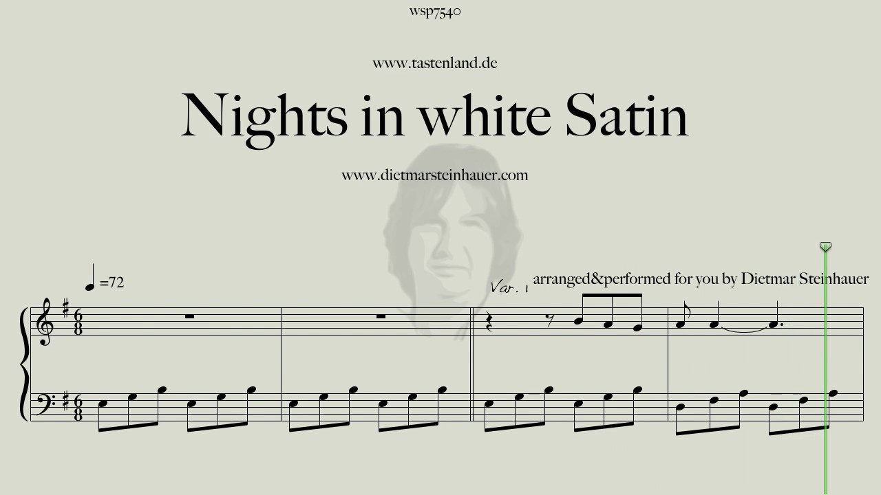 Nights in white Satin   Easy Piano Chords   Chordify