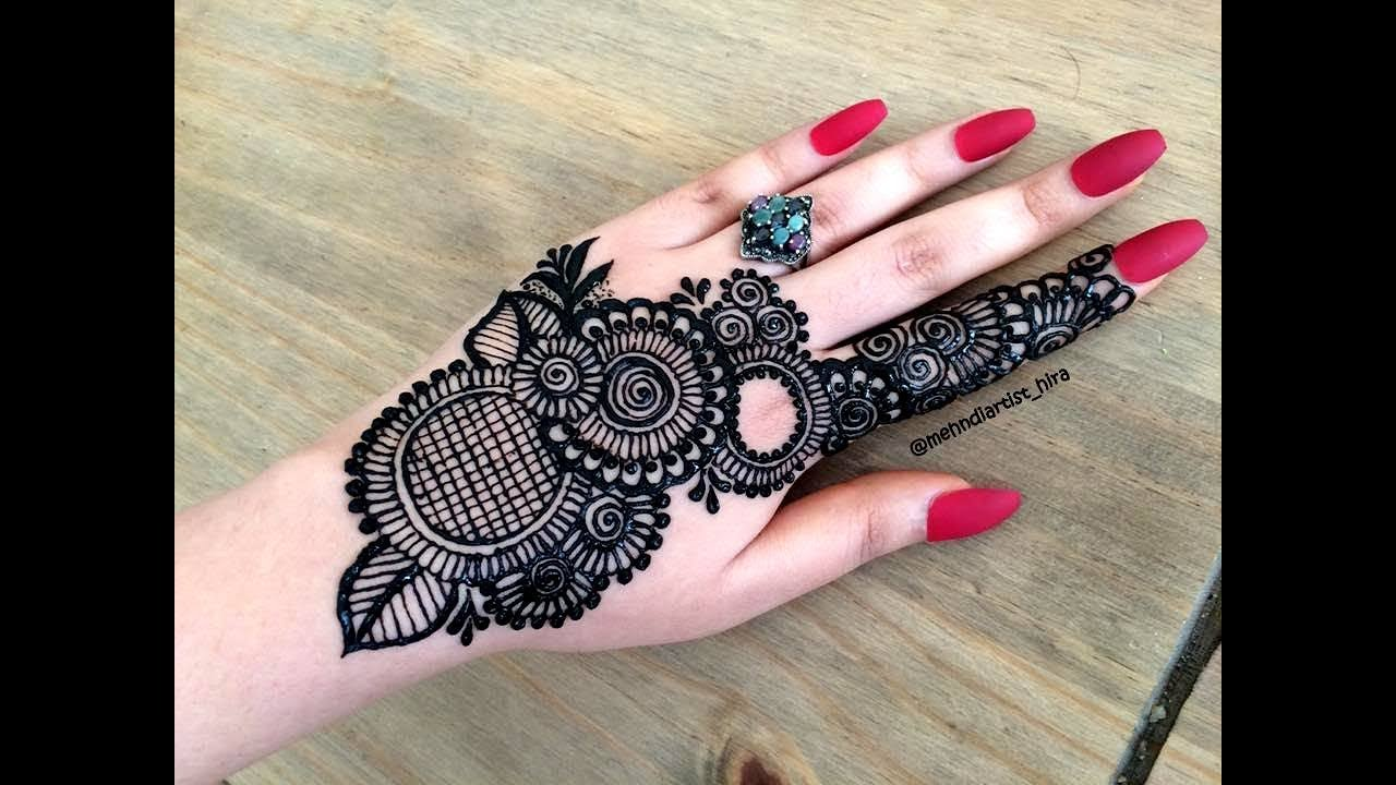 Khaleeji Henna Designs: How To Apply Beautiful Latest Arabic Khaleeji Jewellery