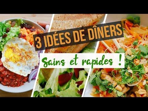 3-dÎners-express,-simples-et-healthy-!-À-préparer-en---de-20min-!!!