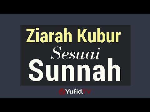 Ziarah Kubur Sesuai Sunnah - Poster Dakwah Yufid TV