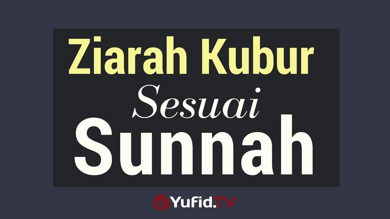 Ziarah Kubur Sesuai Sunnah Poster Dakwah Yufid Tv Youtube