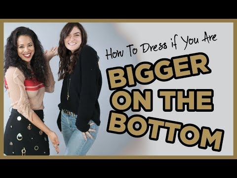 How To Dress If You Are Bigger On The Bottom. Http://Bit.Ly/2KBtGmj