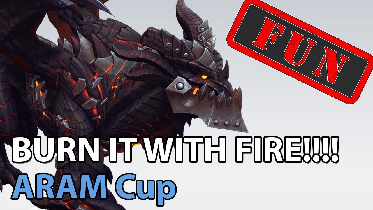 ► ARAM Cup - Burn it with FIRE! - Heroes of the Storm Brawls