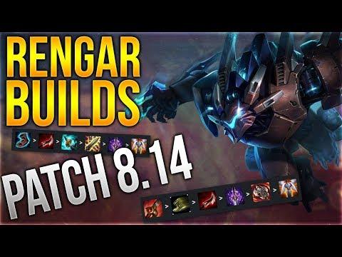 ALLE Rengar Build für Patch 8.14 [League of Legends] [Detusch / German]