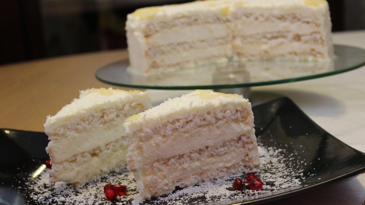 How To Make Raffaello Cake