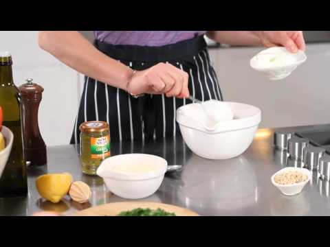Salmon with a Pesto Crust Recipe