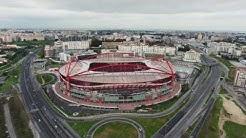 Estádio da Luz, Benfica - Vista Aérea Drone