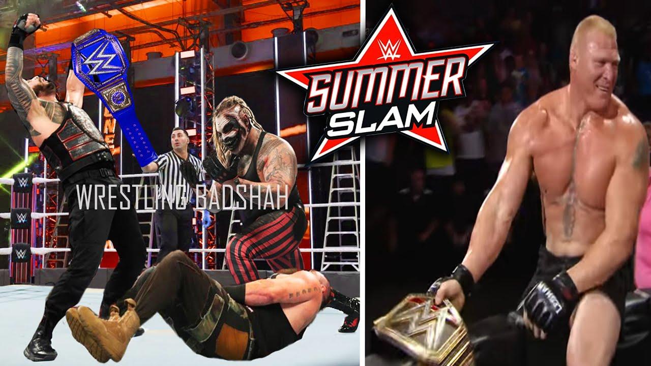 Roman Reigns Returns to WWE?! Roman vs Braun vs Fiend?! Brock Lesnar WWE Champion?! WWE SummerSlam