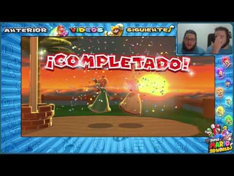 Wii U l Guía l Super Mario 3D World l # 43 l ¡ Mapas : F - 9 y F - 10 !