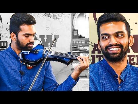THERI Violinist: A Musical Conversation with Manoj Kumar | Ilayathalapathy Vijay | MY 74
