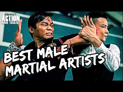 BEST MALE MARTIAL ARTS Action Movie Stars Of Today