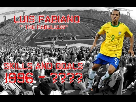 Luís Fabiano '' The Fabulous'' Skills and Goals