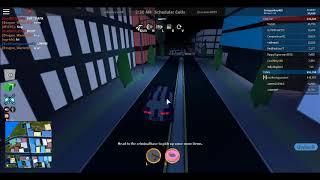Evadiendo a los policias - ROBLOX Jailbreak