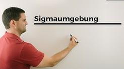 Sigmaumgebung, Stochastik, Beispiel, Wahrscheinlichkeitsrechnung | Mathe by Daniel Jung