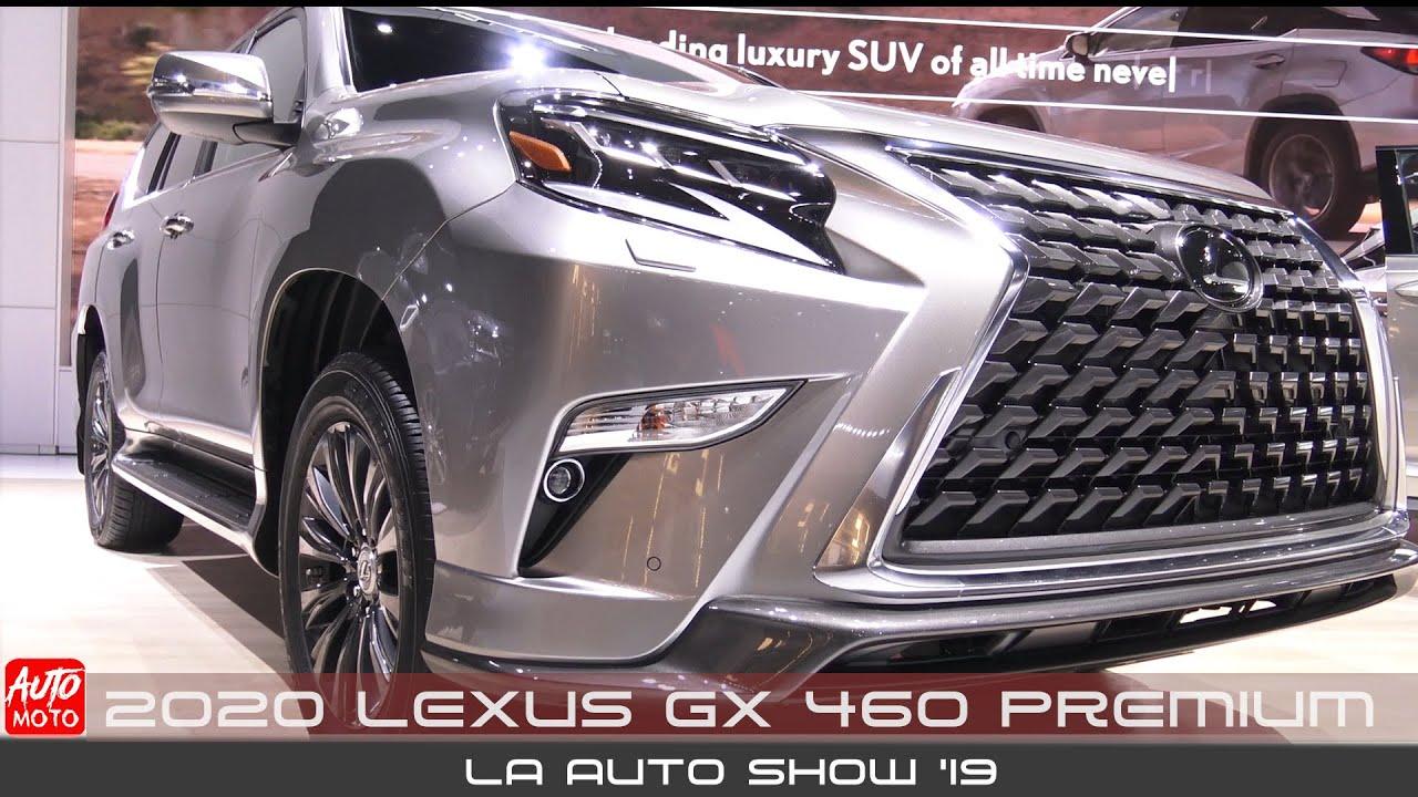 Lexus GX 460 bản 2020 Premium tại LA Auto Show