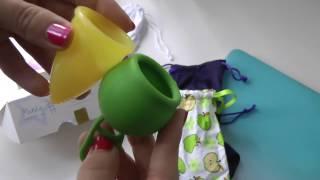 мои чаши MERULA cup, ICare menstrual cup, MeLuna