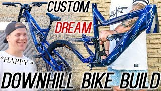 NEW CUSTOM DH BIKE BUILD! Rose Bikes Soul Fire DH