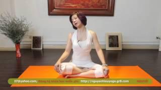 {YOGA TRỊ LIỆU }Chữa đau đầu, Mất ngủ giúp lưu thông khí huyết cùng Nguyễn Hiếu Yoga