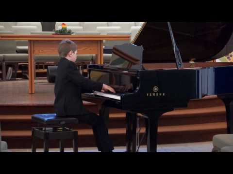 Daniel Alter  Chopin Waltz in C sharp minor - Kiwanis 2017