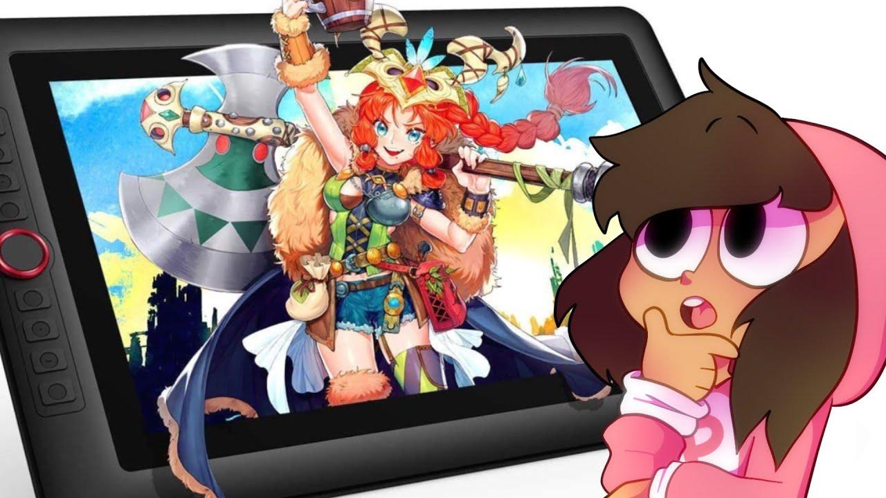 ¿LA MEJOR TABLETA GRÁFICA? 😱 XP-Pen Artist 15.6 Pro Tablet Review [Pinky Chan]