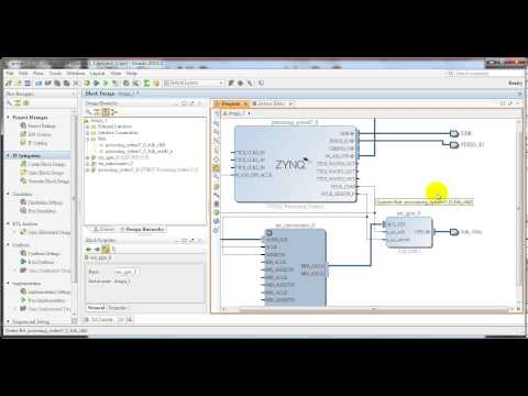 1.How to use Vivado 2013.3 IP Integrator for Zynq [HDL coder + Zynq Project]