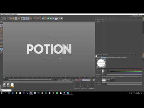 How to make a BOUNCE SYNC INTRO with After Effects and Cinema4D (ENGLISH!)