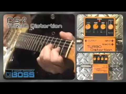 Boss DS-2 Turbo Distortion Pedal - Nevada Music UK