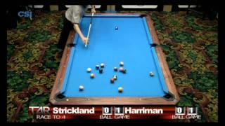 2011 US Open Onepocket - Earl Strickland - Danny Harriman