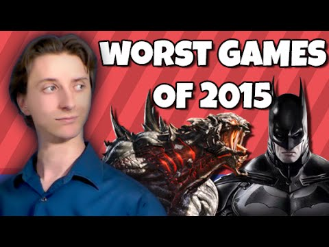Top Five Worst Games of 2015 - ProJared - YouTube