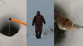 Зимняя рыбалка Рыбалка в Татарстане Река Кама